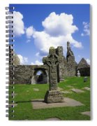 Co Offaly, Clonmacnoise Spiral Notebook