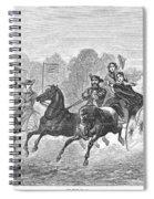 Coaching, 1860 Spiral Notebook