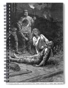 Coal Mine Disaster, 1884 Spiral Notebook