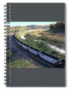Coal Train - Johnstown  Spiral Notebook