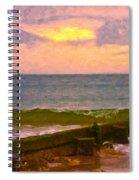 Coastal Climate Spiral Notebook