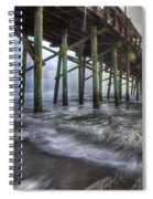 Coastal Echos  Spiral Notebook