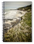 Coastal Grass Spiral Notebook
