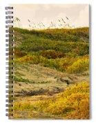 Coastal Plants On Dunes Spiral Notebook