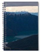 Coastal Range Fjords Spiral Notebook