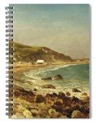 Coastal Scene Spiral Notebook