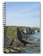 Coastal Seascape Spiral Notebook