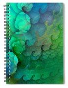Coastal Waves Spiral Notebook