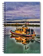 Coastguard Hdr Spiral Notebook