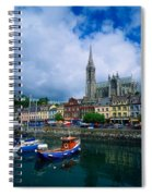 Cobh Cathedral & Harbour, Co Cork Spiral Notebook