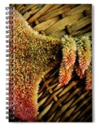 Cockscomb And Basket Spiral Notebook
