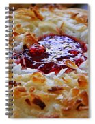 Coconut Cookie  Spiral Notebook