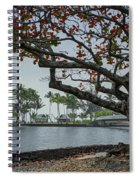 Coconut Island In Hilo Bay Hawaii Spiral Notebook