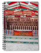 Coconut Shy Spiral Notebook