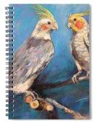Coctaiel Parrots Spiral Notebook