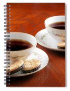 Coffee And Cookies Spiral Notebook
