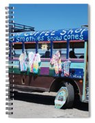 Coffee Bus Spiral Notebook