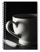 Coffee Cup Heart 2 A Spiral Notebook