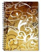 Coffee Flowers 1 Calypso Spiral Notebook