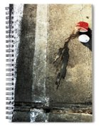Coffee In Car Park Spiral Notebook