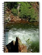 Cold Creek Waters Glen Alpine Creek Spiral Notebook