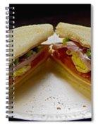 Cold Cut Sandwich Spiral Notebook
