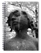 Cold Girl Spiral Notebook