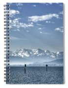 Cold Lake Spiral Notebook