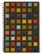 Collage Color Study Lll Spiral Notebook