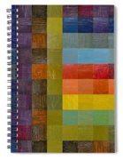 Collage Color Study Sketch Spiral Notebook