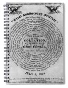 Collation Ticket, 1824 Spiral Notebook