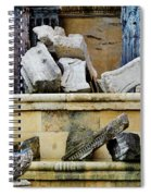 Collection Of Artifacts Number 2 Spiral Notebook