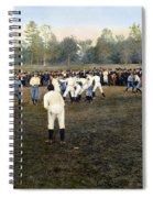 College Footbal Game, 1889 Spiral Notebook