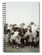 College Football Game, 1905 Spiral Notebook