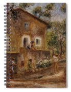 Collette's House At Cagne Spiral Notebook