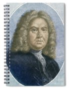 Colley Cibber, English Poet Laureate Spiral Notebook