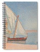 Collioure Les Balancelles Spiral Notebook