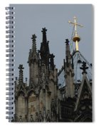 Cologne Cathedral Towers Spiral Notebook