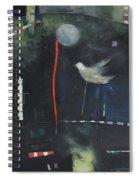 Colombe Dans Le Cirque De Nuit Spiral Notebook