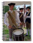 Colonial Drummer Spiral Notebook
