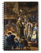 Colonial Schoolhouse Spiral Notebook