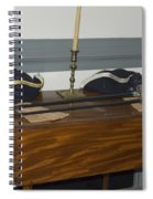 Colonial Soldiers Artifacts Spiral Notebook
