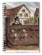 Colonial Stocks Spiral Notebook
