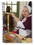 Colonial Wigmaker Spiral Notebook