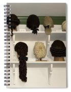 Colonial Wigs Display Spiral Notebook