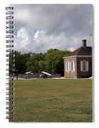 Colonial Williamsburg Scene Spiral Notebook