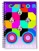 Color Bus Spiral Notebook