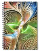 Color Etchings Of The Heart Spiral Notebook