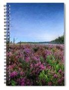 Color Of Summer Spiral Notebook