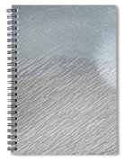 Color Sketch Of Wyoming Snow Spiral Notebook